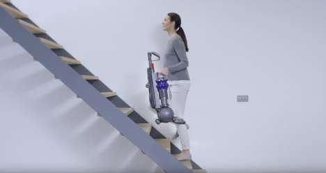 Small-Scale Upright Vacuums