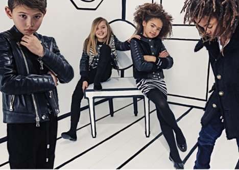 Luxurious Kids Clothing Lines - The 'Balmain Kids' Line is Inspired by the High-End Designer Label