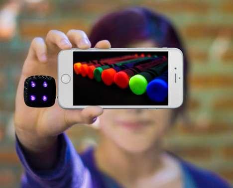 Ultraviolet Smartphone Flashes