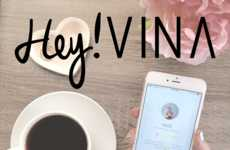 Female Friend-Finding Apps - The 'Hey! VINA' App Helps Women Expand Their Social Circle