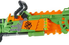 Child-Safe Chainsaw Toys - The Zombie Strike Brainsaw Blaster Lets You Destroy Imaginary Zombies