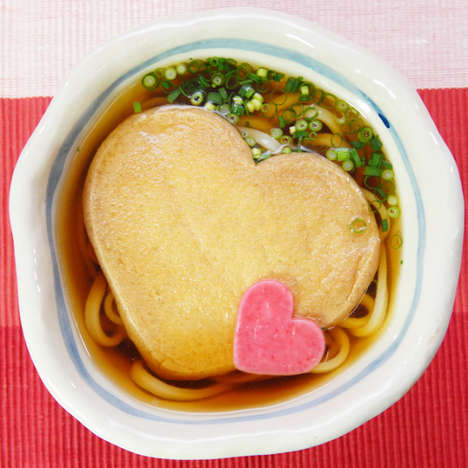 Romantic Noodle Bowls - Love Kitsune is Offering Special Valentine's Day Soup Sets