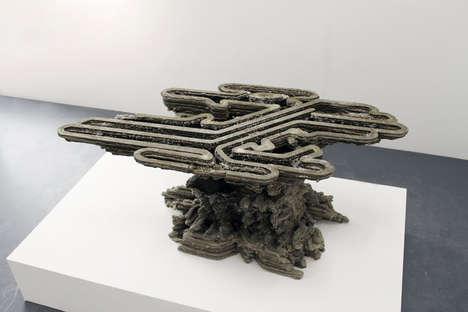 3D-Printed Concrete Architecture