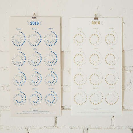 Illustrated Moon Phase Calendars