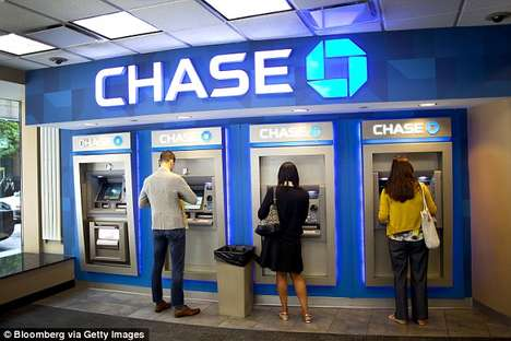 App-Controlled Bank Machines - The New JPMorgan Chase Bank Machines Will Require App Withdrawals