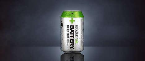 Calorie-Free Energy Drinks