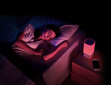 Sleep-Improving Lamps - The Nox Smart Sleep Light Tracks and Improves Nighttime Rest