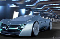 Sculptural Super Cars - The ELK Electric Car Concept by Antonio Paglia Imagines a Future Mercedes