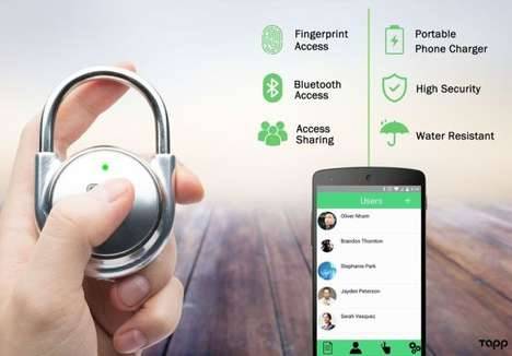 Biometric Security Padlocks
