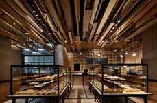 Timber-Clad Bakery Ceilings