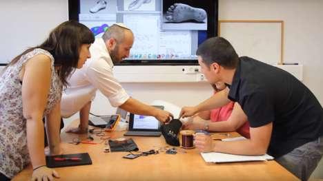 Pressure-Sensing Smart Socks