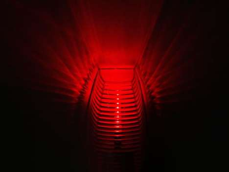 Sleep-Improving Night Lights - This Red LED Bedtime Lamp Reduces Sleepless Interruptions