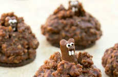 Pop-Up Groundhog Cookies - These Celebratory Chocolate Biscuits Pay Tribute to Groundhog Day