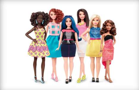 Diversely Shaped Dolls - The Latest Barbie Fashionistas Line Boasts Curvy, Tall and Petite Models