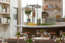 Vegetarian Cafe Bars - The Butcher's Daughter is a Vegetarian Cafe and Juice Bar in NYC