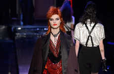 Parisian Club Apparel - Jean Paul Gaultier's Spring Couture Line is Inspired by the Iconic Le Palace