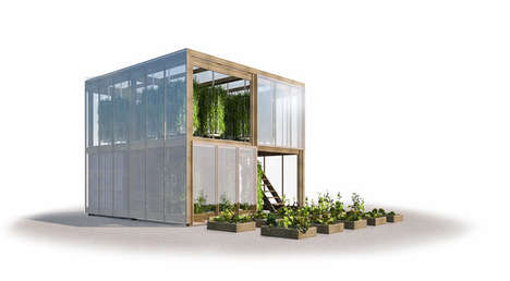 Two-Story Flatpack Greenhouses
