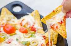Pizza-Topped Nachos - These Franglais Kitchen Pizza Nachos Make a Yummy Shareable Appetizer