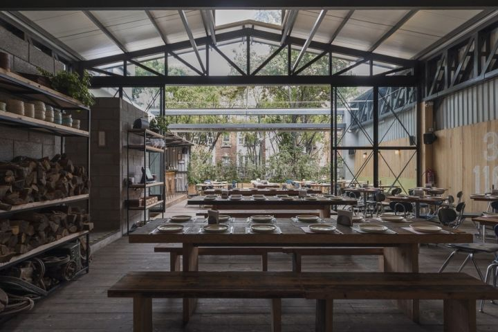 Communal Dining Greenhouses