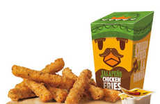 Piquant Chicken Fries - The New 'Jalapeno Chicken Fries' are the Latest Burger King Menu Addition