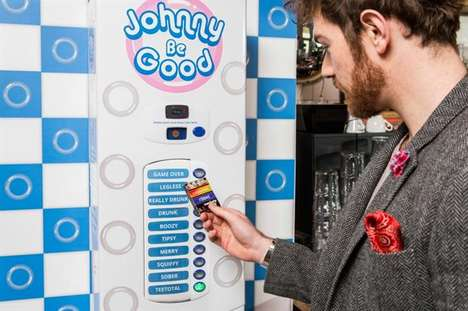 Breathalyzer-Activated Condom Machines
