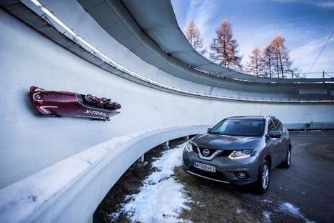 Crossover Vehicle-Inspired Bobsleds