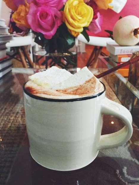 Curry-Spiced Hot Chocolates