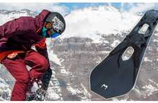 Stealth Sport Snowboards - The Cheetah Ultra Sports 'Whip FR-II' Snowboard is Trick-Oriented