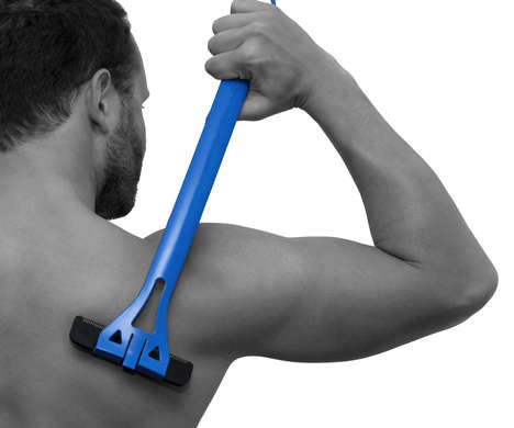 Back Body Shavers - The 'baKBlade BIGMOUTH' Hair Shaver Lets Guys Maintain Hairless Backs