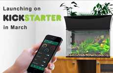 WiFi-Connected Gardens - This Self-Sustaining Ecosystem Can Be Controlled with a Smatphone