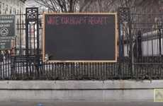 Clean Slate Charity Campaigns - This Billboard Asked New Yorkers What Their Biggest Regret Was