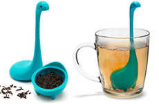 Sea Monster Steepers - This Adorable Silicone Tea Infuser is Shaped to Look Like Baby Nessie