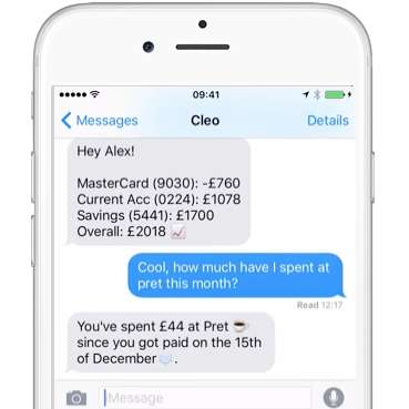 AI Money Managers - The Cleo App Consists of an AI Assistant for Matters of Personal Finance