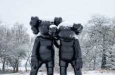 Giant Sad Sculptures