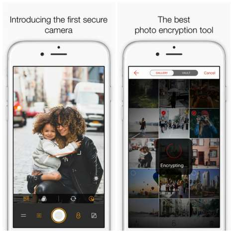 Encrypted Photo Apps - The Reporter Camera App Keeps Your Pictures Private in a Digital Vault