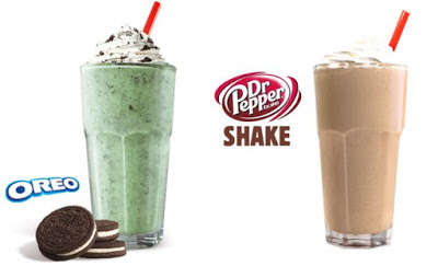 Carbonated Soda Milkshakes