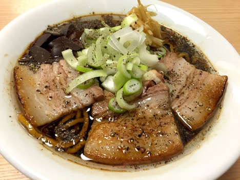 Chocolate Ramen Dishes - Tokyo Restaurant Mensho is Offering the Sweet Noodles for Valentine's Day