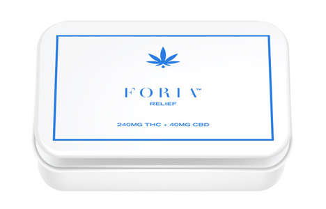 Marijuana-Infused Female Suppositories - Foria Offers a Pack of Weed-Laced Suppositories for Women