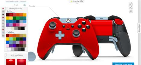 ColorWare Lets Gamers Create Their Own Xbox One Controllers