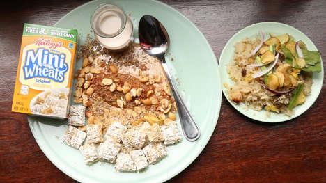 Chinese Corn Flake Breakfasts
