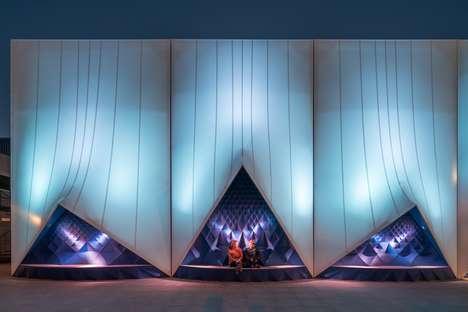 Crystallized Community Pavilions