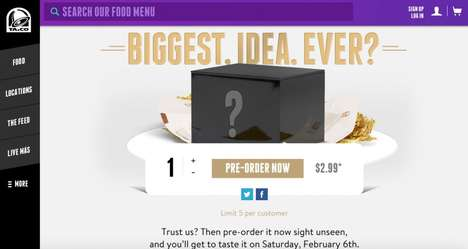 Mysterious Fast Food Orders