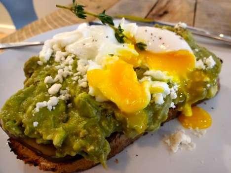 Open-Faced Avocado Sandwiches