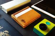 Slim Expanding Wallets - The 'Xpand' Wallet is a Slim Card Holder That Can be Made Larger or Smaller