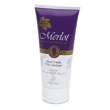 Sanitizing Hand Creams - Merlot's Antibacterial Hand Cream Helps Fight Common Germs