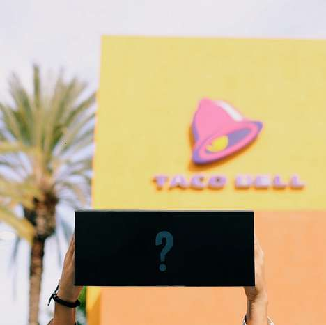 Mysterious Taco Promotions - This Chain is Letting Fans Pre-Order Its New Secret New Dish