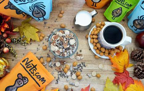 Personalized Trail Mix Snacks - Nuts.com Offers Custom Trail Mixes That are Tasty and Nutritious
