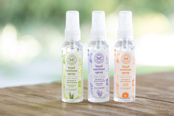 22 Portable Hand Sanitizers