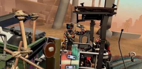 Virtual Gesture-Control Games
