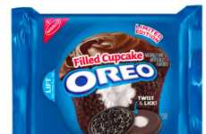 Filled Cupcake Cookies - The Latest Oreo Treat Flavor Has a Chocolate Cream with a Vanilla Centre